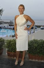 VERONICA FERRES at Gala Dinner Vila Costa at Ischia Global Festival 07/15/2017