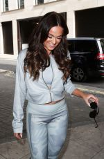 VICKY PATTISON Arrives at Lillywhites Store at Piccadilly in London 07/07/2017
