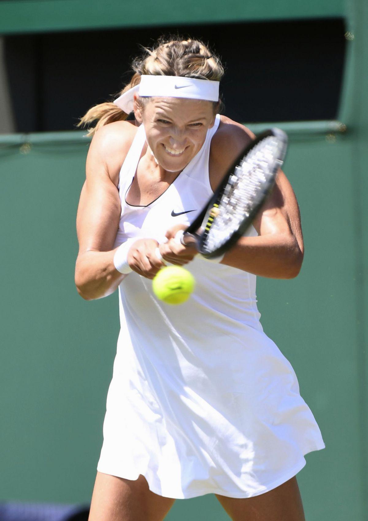 VICTORIA AZARENKA at Wimbledon Championships 07/04/2017