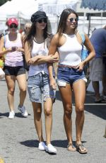 VICTORIA JUSTICE and MADISON REED at Farmer