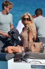 VICTORIA SILVSTEDT Out in Saint Tropez 07/01/2017