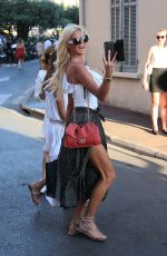 VICTORIA SILVSTEDT Out in St Tropez 07/14/2017