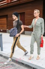 YOLANDA and Anwar HADID Out in New York 07/17/2017