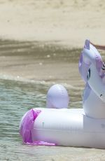 ZARA HOLLAND in Bikini at a Beach in Barbados 07/27/2017