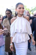 ZENDAYA COLEMAN at Ralph and Russo Fashion Show at Paris Haute Couture 07/03/2017