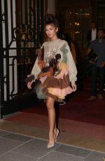ZENDAYA COLMEAN Leaves Ritz Hotel i Paris 07/04/2017
