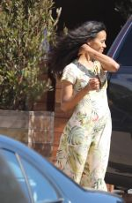 ZOE SALDANA at Soho House in Malibu 07/07/2017
