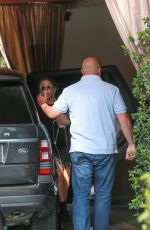 /JENNIFER ANISTON Out in Hollywood /
