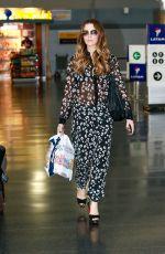 KATE BECKINSALE at JFK Airport in New York 08/25/2017