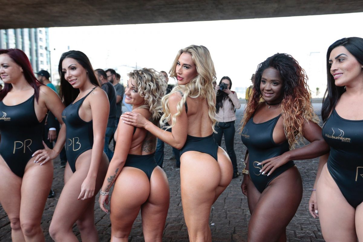 2017 Miss Bumbum Pageant in Sao Paulo 08/07/2017