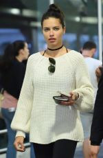 ADRIANA LIMA at JFK Airport in New York 08/18/2017