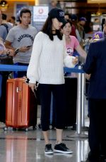 ADRIANA LIMA at Los Angeles International Airport 08/15/2017
