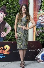 ADRIANA UGARTE and MICHELLE JENNER at Tadeo Jones 2: El Secreto Del Rey Midas Photocall in Madrid 08/22/2017