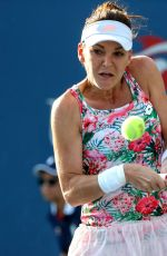 AGNIESZKA RADWANSKA at 2017 US Open Tennis Championships 08/30/2017