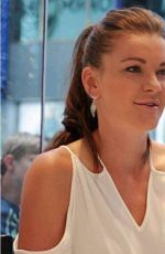 AGNIESZKA RADWANSKA Signing Autographs in New York 08/28/2017