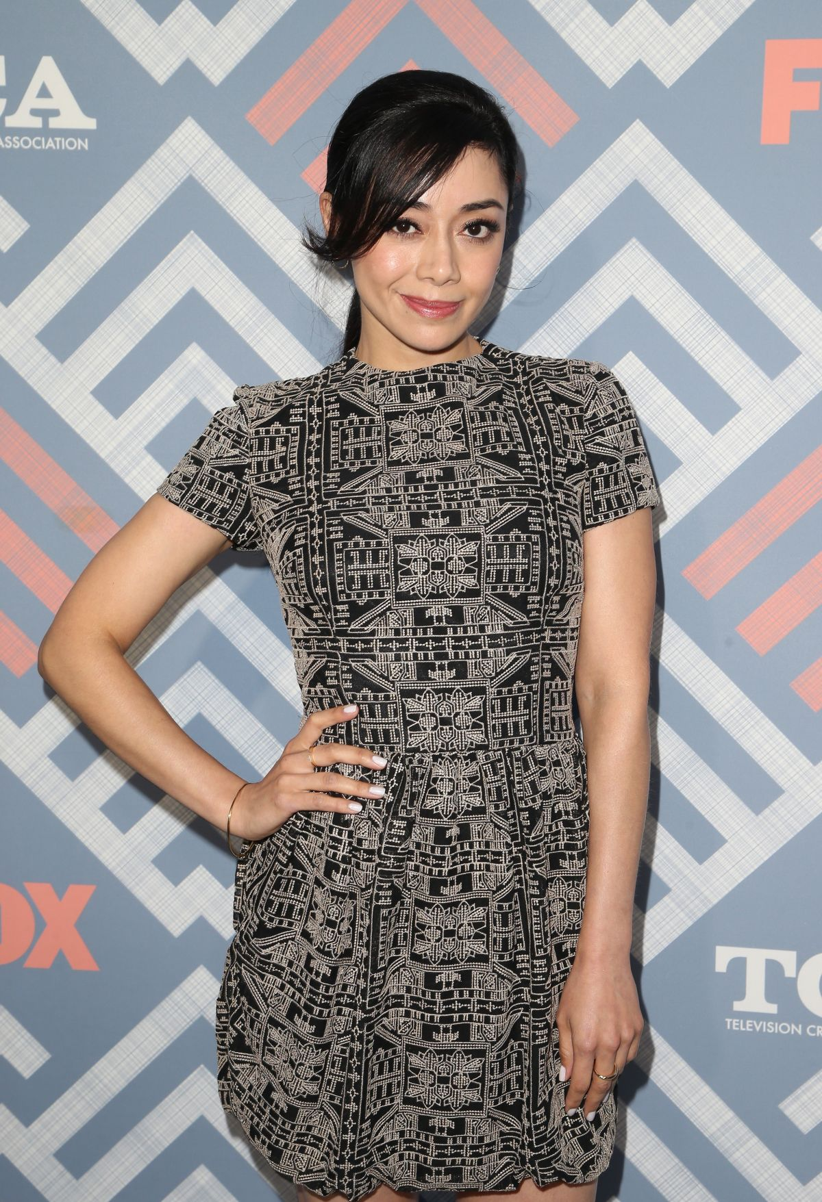 AIMEE GARCIA at Fox TCA After Party in West Hollywood 08/08/2017