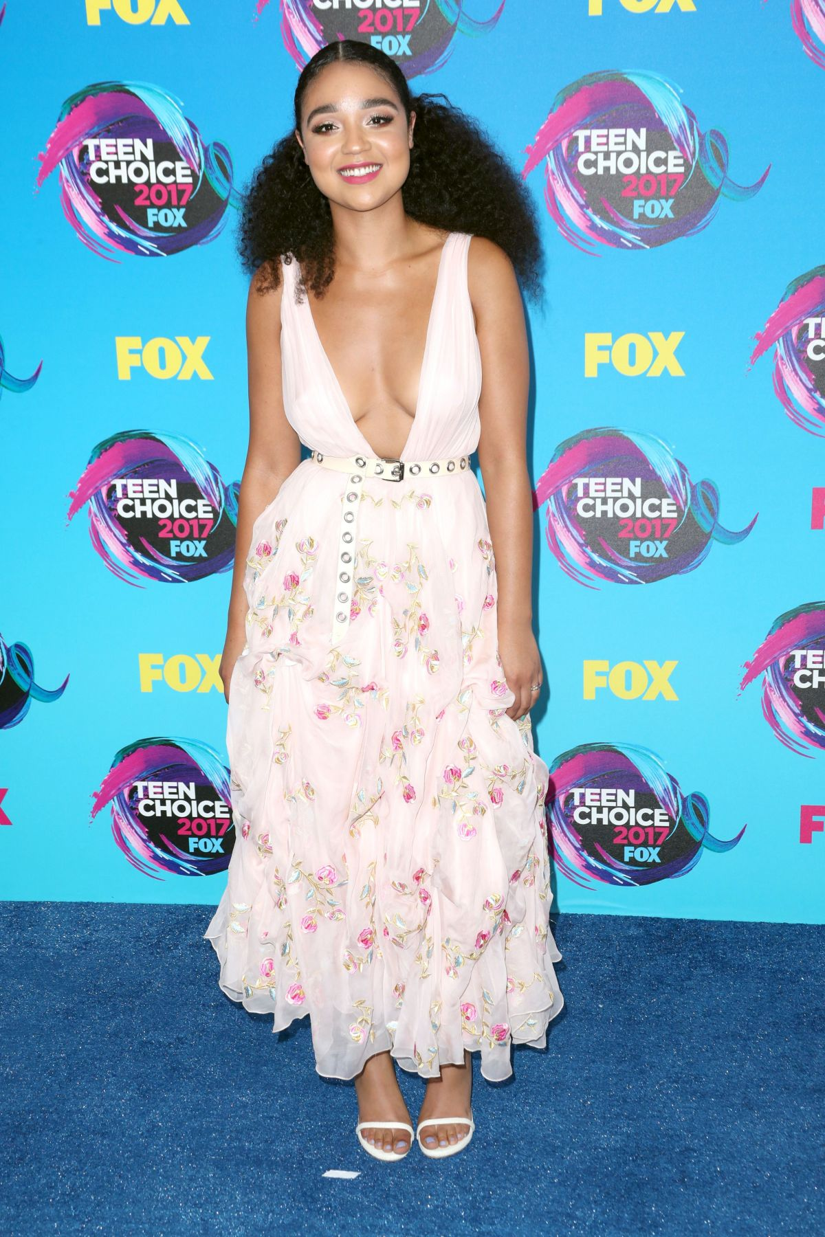 AISHA DEE at Teen Choice Awards 2017 in Los Angeles 08/13/2017