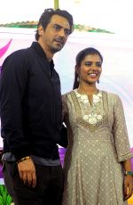 AISHWARYA RAJESH at a Promotional Event of Political Crime Drama Daddy in Mumbai 08/04/2017