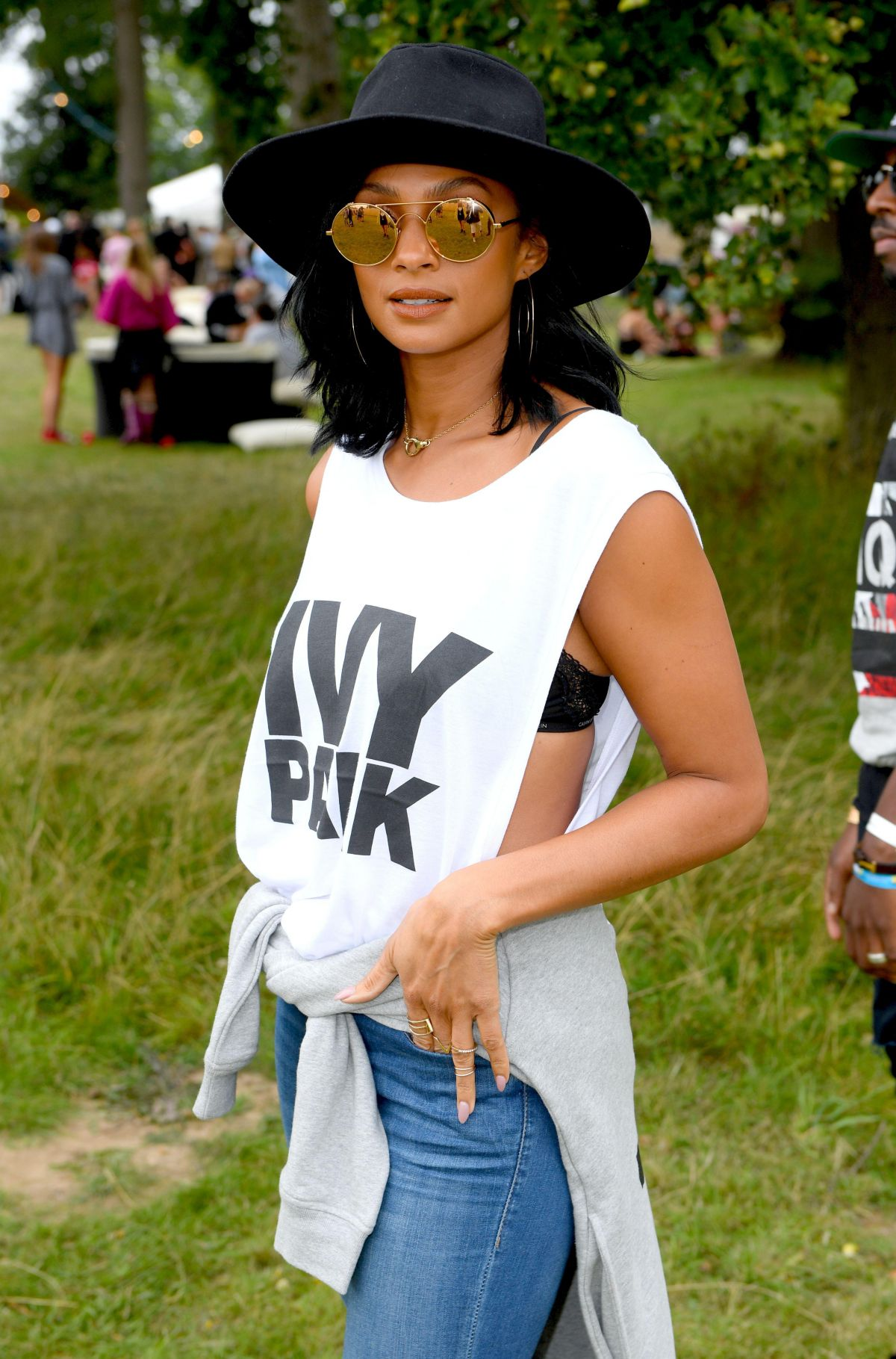 ALESHA DIXON at V Festival in Chelmsford 08/20/2017