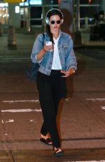ALESSANDRA AMBROSIO at JFK Airport in New York 08/28/2017