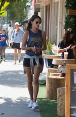 ALESSANDRA AMBROSIO Out for Cold Drink After a Workout in Brentwood 08/26/2017