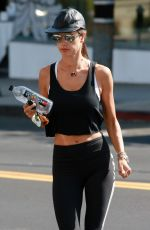 ALESSANDRA AMBROSIO Out for Morning Workout in Los Angeles 08/10/2017