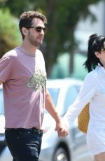 ALESSANDRA TORRESANI and Sturgis Adams Hold Hands Out in Los Angeles 08/05/2017