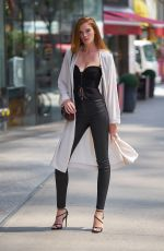 ALEXINA GRAHAM at Fittings for Victoria's Secret Fashion Show 2017 in New York 08/27/2017