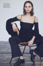 ALICIA VIKANDER in Elle Magazine, September 2017 Issue