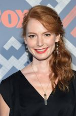 ALICIA WITT at Fox TCA After Party in West Hollywood 08/08/2017