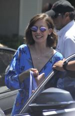 ALISON BRIE at Jennifer Klein's Day of Indulgence Party in Brentwood 08/13/2017