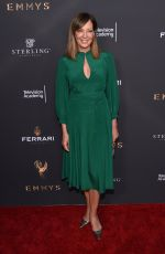 ALLISON JANNEY at Emmys Cocktail Reception in Los Angeles 08/22/2017