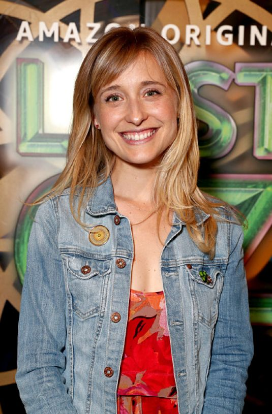 ALLISON MACK at Lost in Oz Premiere in Hollywood 08/01/2017