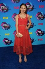 ALYSSA JIRRELS at Teen Choice Awards 2017 in Los Angeles 08/13/2017