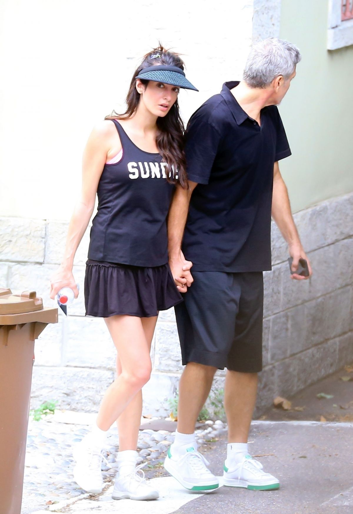 AMAL and GEORGE CLOONEY Out in Laglio 08/11/2017