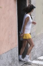 AMAL CLOONEY Out in Lake Como 08/18/2017