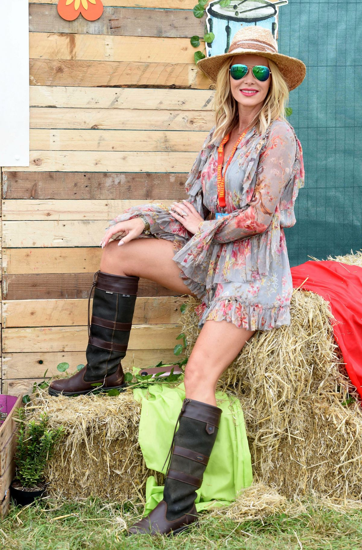 AMANDA HOLDEN at Big Festiva in Kingha in Oxfordshire 08/26/2017
