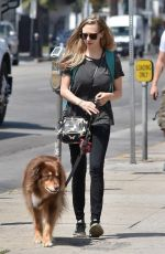 AMANDA SEYFRIED Out and About in Los Angeles 08/24/2017