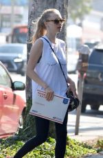 AMANDA SEYFRIED Out and About in West Hollywood 08/29/2017