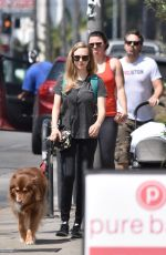 AMANDA SEYFRIED Out for Lunch at Cheebo in West Hollywood 08/23/2017