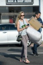 AMANDA SEYFRIED Out Shopping in Los Angeles 08/29/2017