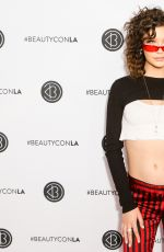 AMANDA STEELE at Beautycon LA at LA Convention Center in Los Angeles 08/13/2017