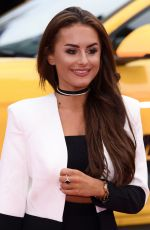 AMBER DAVIES at Logan Lucky Premiere in London 08/21/2017