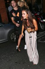 AMBER DAVIS and OLIVIA ATTWOOD at Inthestyle Fashion in London 08/16/2017