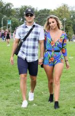 AMBER DOWDING at V Festival in Chelmsford 08/20/2017