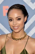 AMBER STEVENS WEST at Fox TCA After Party in West Hollywood 08/08/2017