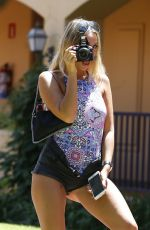AMBER TURNER on Holiday in Marbella 08/08/2017