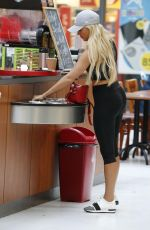 AMBER TURNER on the Set of Towie in Essex 08/21/2017