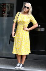 AMELIA LILY Arrives at Her Office in London 08/29/2017