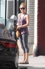 AMY ADAMS Arrives at a Pilates Class in Hollywood 08/19/2017